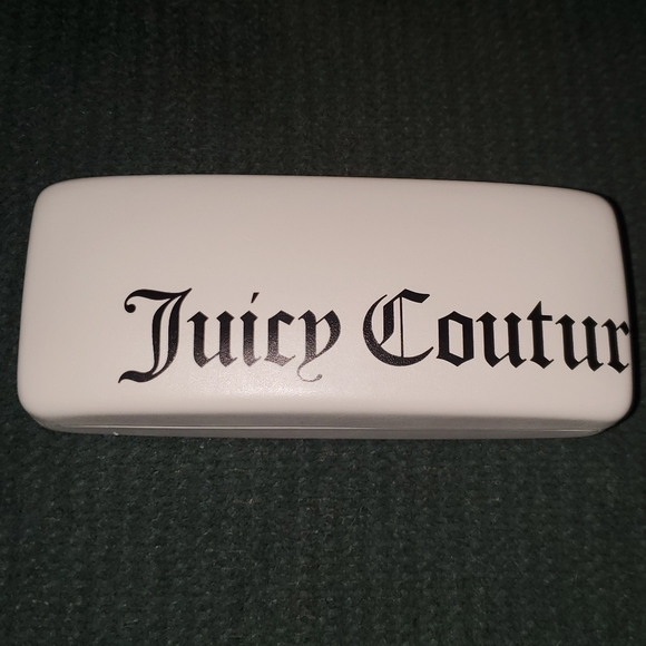 Juicy Couture eyeglass case - White